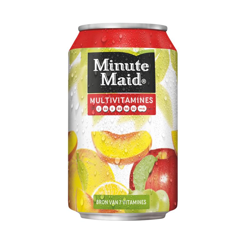 minute maid multivitamines blik