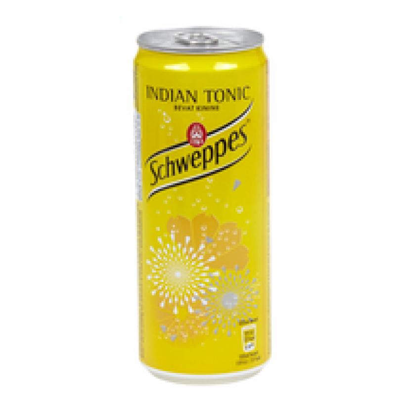 Schweppes tonic blik